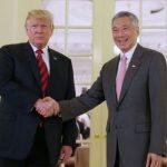 Sir Trump làm gì trong buổi sáng đầu tiên trên đảo quốc Sư tử Biển?
