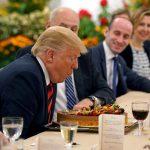 Ông Trump mừng sinh nhật sớm ở Singapore