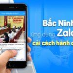 Người dân Bắc Ninh nhận kết quả giấy tờ nhà đất, hộ tịch, khiếu nại qua Zalo