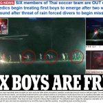 Cuộc giải cứu đội bóng đá thiếu niên Thái Lan: 4 em đã được cứu thoát