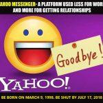 Vĩnh biệt…Yahoo Messenger