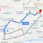 Google Maps bắt đầu chỉ đường cho xe 2 bánh tại Việt Nam