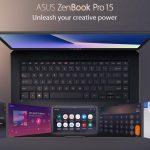 ASUS ZenBook Pro 15 (UX580) với ScreenPad thông minh có mặt tại Việt Nam