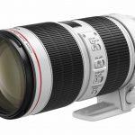 Hai ống kính tiêu cự dài EF70-200mm thế hệ 2018 của Canon