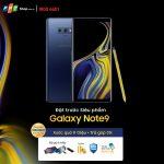 FPT Shop tặng quà trị giá 11 triệu đồng cho khách đặt mua trước Galaxy Note9