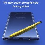 Samsung ra mắt toàn cầu Galaxy Note9 với bút S Pen mới