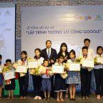 """Hơn 1.300 học sinh tiểu học Việt Nam tham gia dự án """"Lập trình tương lai cùng Google"""""""