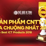 Giải thưởng sản phẩm CNTT-TT ưa chuộng nhất Best Cup 2018 do bạn đọc Tạp chí Thế Giới Vi Tính bình chọn