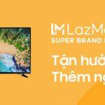 Ngày 10-10: ngày Super Brand Day siêu giảm giá sản phẩm Samsung trên Lazada