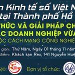 Diễn đàn Kinh tế số Việt Nam 2018 (VDE Forum 2018) về Cách mạng công nghiệp lần thứ tư