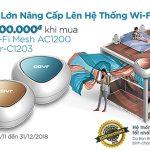 D-Link giảm 1.500.000 đồng cho khách hàng nâng cấp lên hệ thống Wi-Fi Mesh COVR
