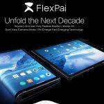 Smartphone màn hình gập cong Royole FlexPai
