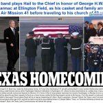 Ông George H.W. Bush trở về nơi an nghỉ tại Houston
