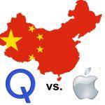Apple và Qualcomm đấu nhau trên đất Trung Quốc