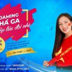 VinaPhone tiếp sức đội tuyển bóng đá Việt Nam và cổ động viên tại Malaysia
