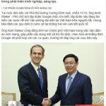 Google thông báo chính thức liên quan đến việc mở văn phòng tại Việt Nam