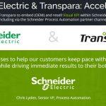 Schneider Electric hợp tác với Transpara mang đến nhiều giá trị gia tăng cho các ngành công nghiệp
