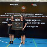 Samsung Vina trở thành nhà tài trợ 5 năm cho giải Bóng rổ RBL x Samsung 2018 của RMIT