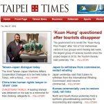 Vụ du khách Việt mất tích ở Đài Loan trên báo Taiwan Times