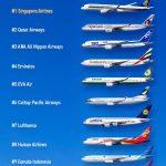Những hãng hàng không ngon nhất thế gian 2018