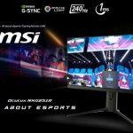 Màn hình MSI hỗ trợ NVIDIA G-Sync Compatible