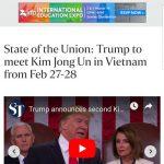 Tổng thống Donald Trump xác nhận sẽ gặp Chủ tịch Bắc Triều Tiên tại Việt Nam