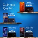 Nokia khuyến mại giảm giá cho 3 mẫu smartphone