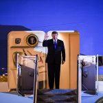 Tổng thống Hoa Kỳ Donald Trump đã tới Hà Nội lúc gần 9 giờ tối 26-2-2019