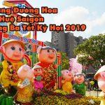 VIDEO: Lang thang Đường Hoa Nguyễn Huệ trưa Mùng Ba Tết Kỷ Hợi 2019