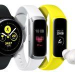 Samsung ra mắt ba thiết bị đeo thông minh mới Galaxy Buds, Galaxy Watch Active và Galaxy Fit