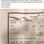 Người hành khách may mắn của chuyến bay ET302