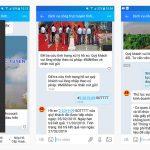 Cà Mau ứng dụng Zalo để giúp người dân làm dịch vụ hành chính công trên Internet