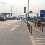 Đã thay dải phân cách bê tông trên cao tốc TP.HCM – Long Thành – Dầu Giây