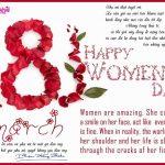 Ngày 8-3, cảm ơn phụ nữ