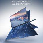 Laptop gập xoay ASUS ZenBook Flip 13 UX362 nhỏ gọn nhất thế giới