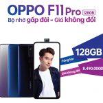 OPPO ra mắt smartphone F11 Pro 128GB ở Việt Nam với giá bằng 64GB