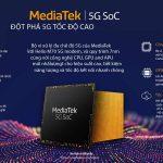 MediaTek công bố bộ vi xử lý 5G cho các thiết bị di động thế hệ mới