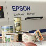 Mực in nhãn Epson đạt tiêu chuẩn Châu Âu về an toàn thực phẩm