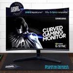 Samsung công bố màn hình cong chơi game CRG5 240Hz G-Sync