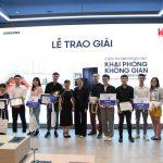 """Samsung Vina và Đại học Kiến trúc TP.HCM trao giải chung kết cuộc thi """"Khai phóng không gian SpaceMax"""""""