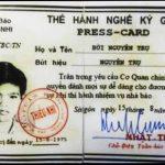 Thẻ ký giả 1973