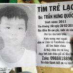 Xin mọi người giúp sức và cầu nguyện cho cha Trần Thanh Lộc sớm tìm lại được con Trần Hưng Quốc