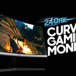 Samsung bán màn hình chơi game cong CRG5 đầu tiên trên thế giới tại Việt Nam