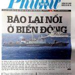 Biển Đông lại nổi bão