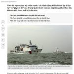 """Hoa Kỳ đã lên tiếng về hành vi """"khiêu khích"""" mới của Trung Quốc tại Biển Đông"""