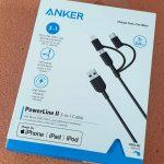 Cáp sạc nhanh 3-in-1 Anker PowerLine II