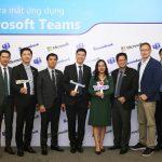 Sacombank trở thành ngân hàng Việt Nam đầu tiên số hóa môi trường làm việc với Microsoft Teams