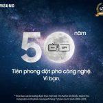 Samsung mừng sinh nhật 50 năm tặng người dùng Việt 50 Smart TV 4K 50 inch và 1.000 chiếc One Remote