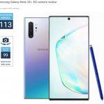 Samsung Galaxy Note10+ 5G dẫn đầu bảng xếp hạng DxOMark về selfie camera, rear camera và quay video