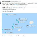 Tàu hải quân Việt Nam phải chăng đã có mặt ở Bãi cạn Tư Chính?